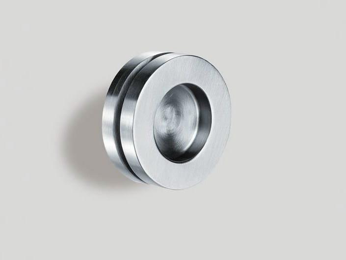 Metal glass door handle V-523 - Metalglas Bonomi