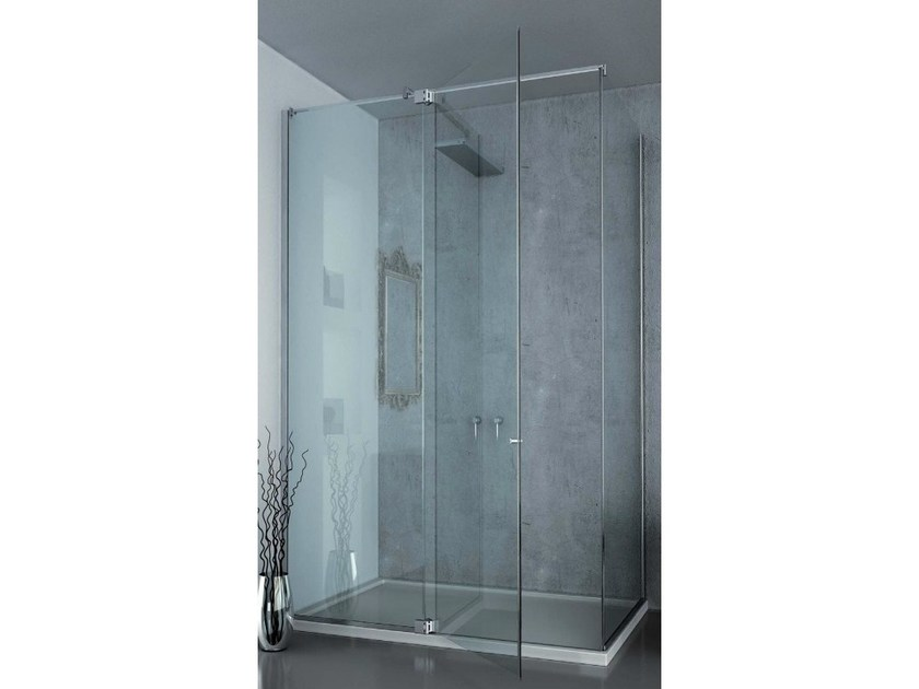 Showers box with Bilica hinges B-302 | Shower cabin by Metalglas Bonomi