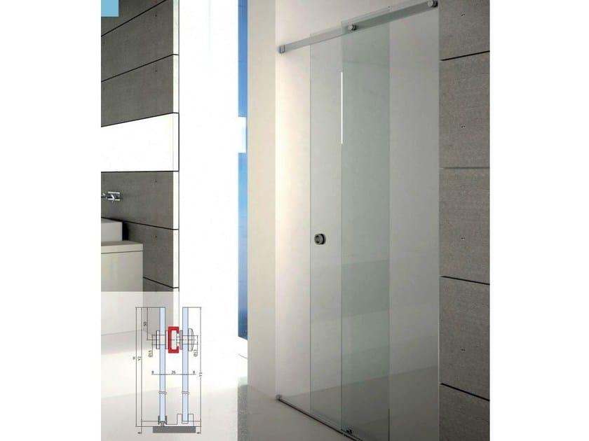 Shower cabin with sliding door BX-1500 | Shower cabin - Metalglas Bonomi