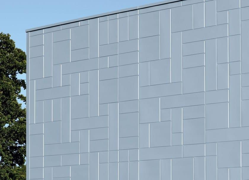 Panel for facade ART-Line - RHEINZINK Italia
