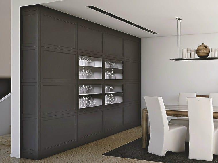 Credenza in legno aeterna cocoa l 39 origine - Mobili stile contemporaneo moderno ...