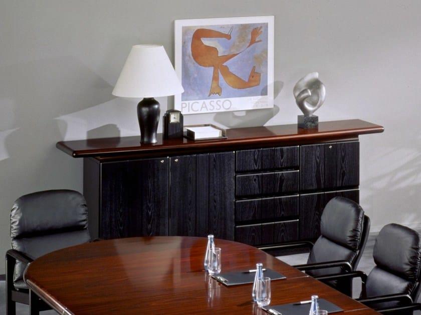 Classic style wooden office storage unit 8915 | Office storage unit - Dyrlund