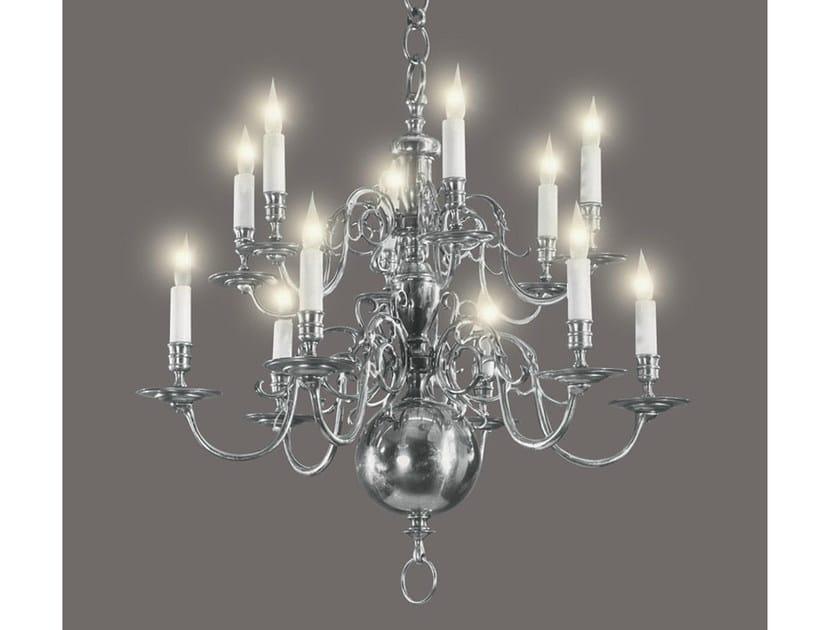 Bronze chandelier 13100 | Chandelier by Tisserant