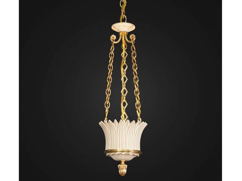 Bronze pendant lamp 14745 | Pendant lamp - Tisserant