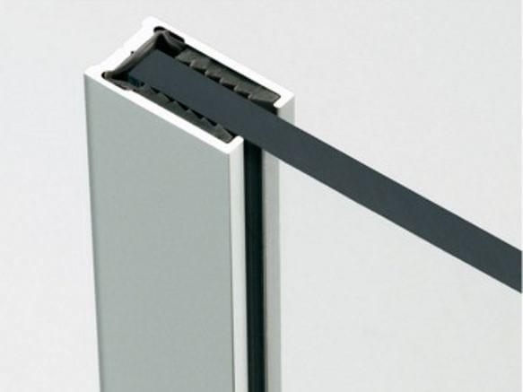Metal Door fittings Profiles by Metalglas Bonomi