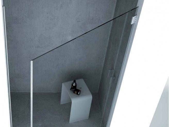 Metal Shower door hinge Shower door hinge - Metalglas Bonomi