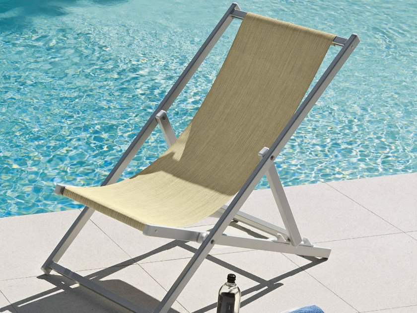 Folding deck chair PORTOFINO | Deck chair - FIAM
