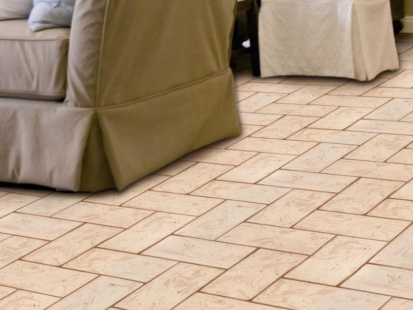 Quarry flooring White cotto variegated cipria - DANILO RAMAZZOTTI ITALIAN HOUSE FLOOR
