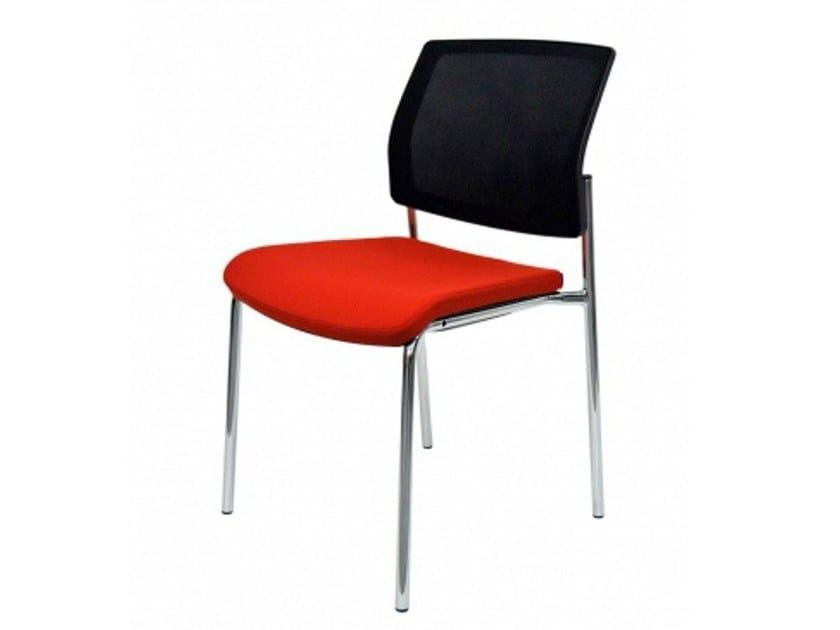 Upholstered chair GAYA | Reception chair - MDD