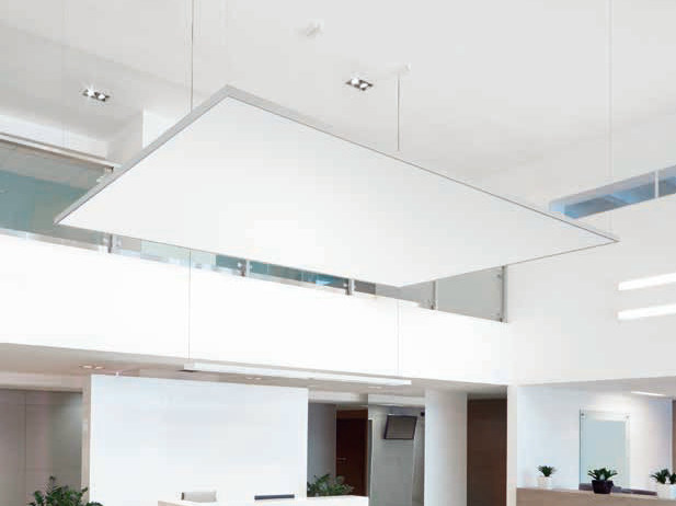Acoustic ceiling clouds THERMATEX® Sonic modern - Knauf AMF Italia Controsoffitti