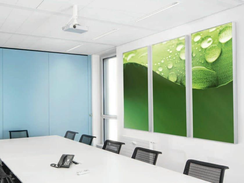 Decorative acoustical panels AMF Line Modern - Knauf AMF Italia Controsoffitti
