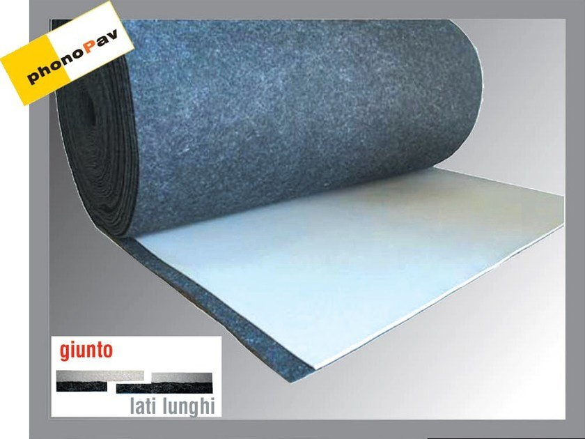 Sound insulation felt PHONOPAV 300 SOFT - Thermak by MATCO