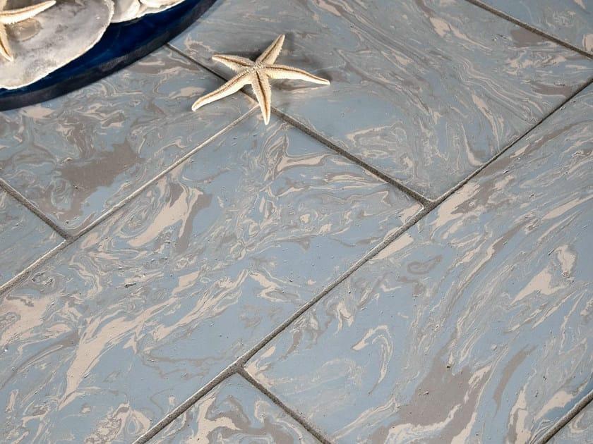 Quarry flooring SCIRUSS BLUNOTTE - DANILO RAMAZZOTTI ITALIAN HOUSE FLOOR