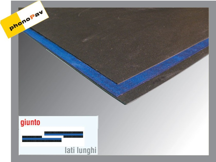 Sound insulation panel PHONOGUM by Thermak by MATCO