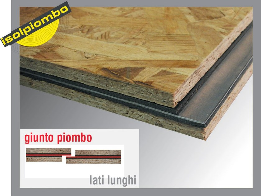 Sound insulation and sound absorbing felt with lead-laminate SILENZIOSO 1 - Thermak by MATCO