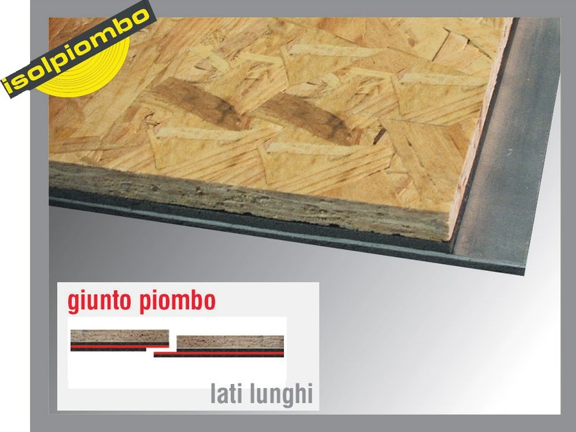 Sound insulation and sound absorbing felt with lead-laminate SILENZIOSO 2 - Thermak by MATCO