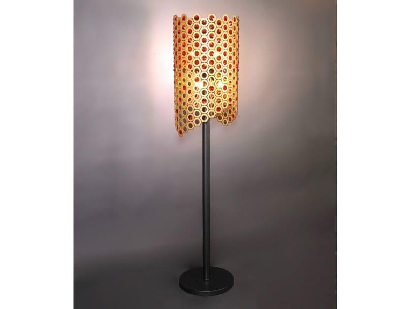Bronze floor lamp 64950 | Floor lamp - Tisserant