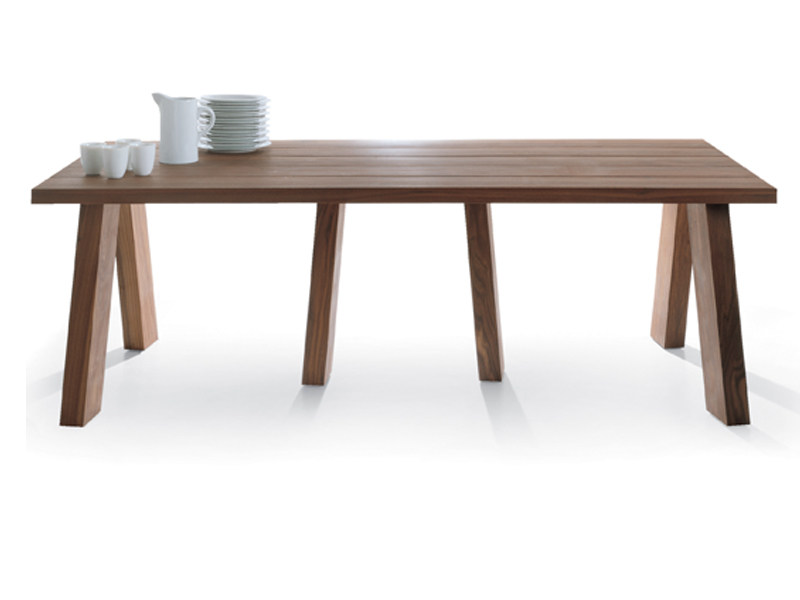 Rectangular wooden table LUDO | Table - Riva 1920