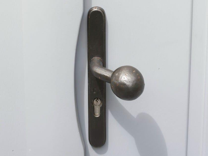 Iron door handle with lock PV TPH 1830 | Iron door handle - Dauby