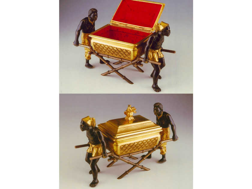 Bronze storage box 49100 | Storage box - Tisserant