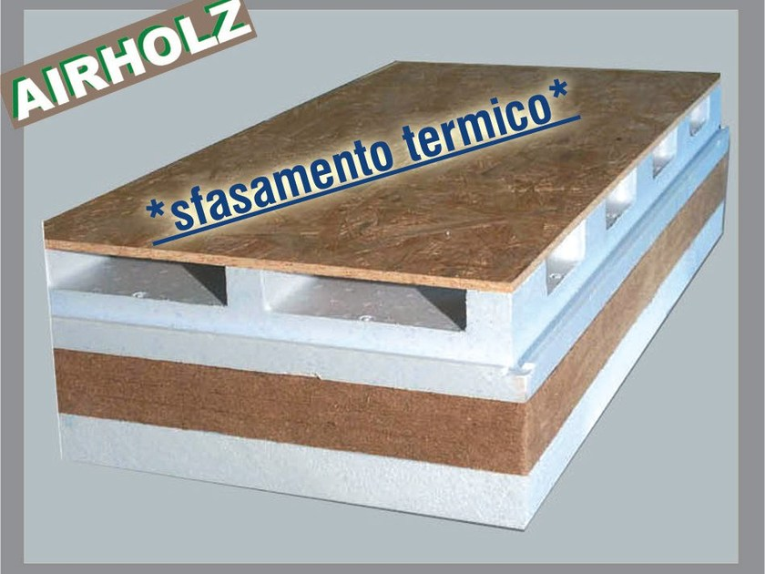 Ventilated roof system AIRHOLZ TOP by Thermak by MATCO