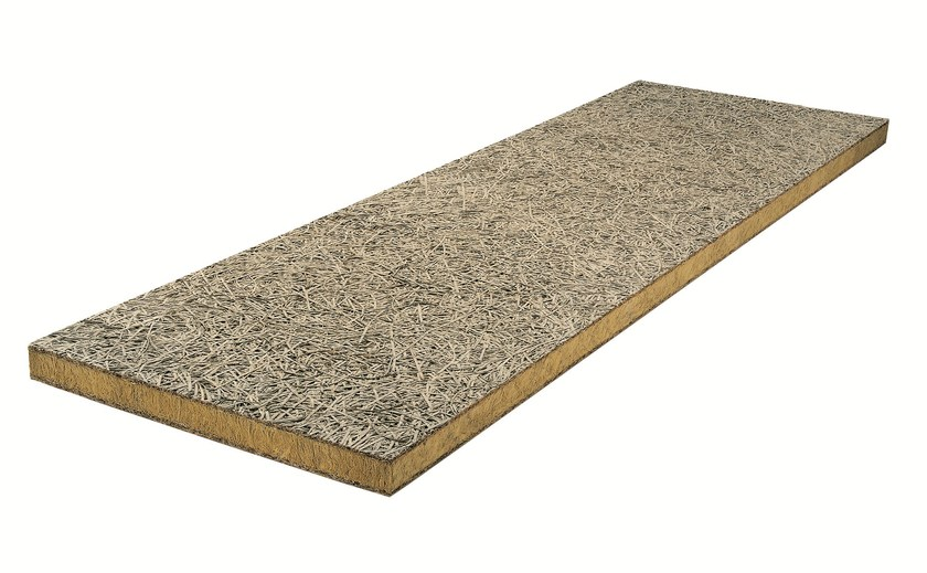 Insulation wood wool and rock wool CELENIT L3 - CELENIT