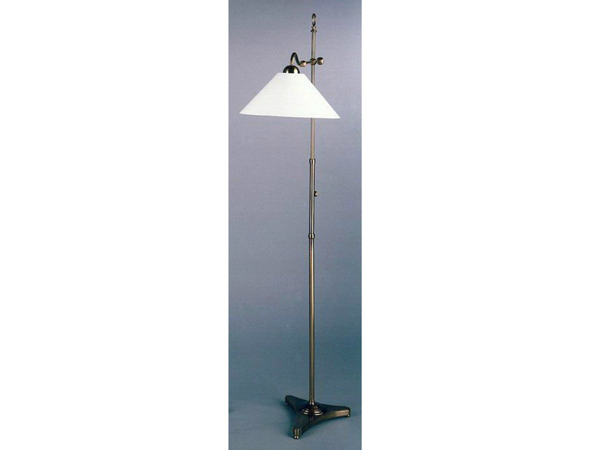 Bronze floor lamp 50871 | Floor lamp by Tisserant
