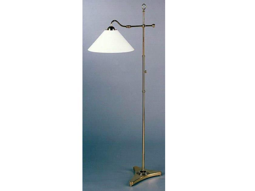 Bronze floor lamp 50960 | Floor lamp - Tisserant