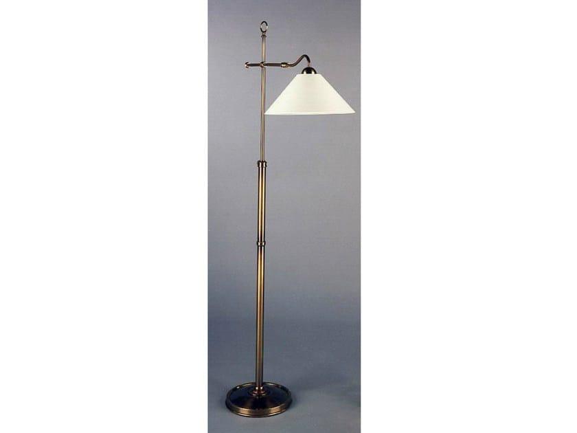 Bronze floor lamp 50971 | Floor lamp - Tisserant