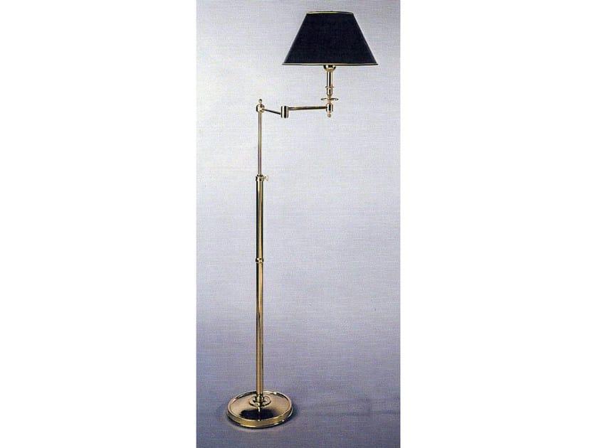 Bronze floor lamp 52502 | Floor lamp by Tisserant