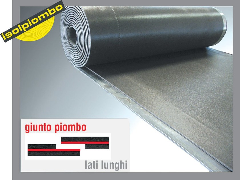 Sound insulation and sound absorbing felt with lead-laminate ACUFLOT - Thermak by MATCO