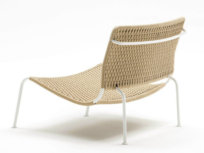Rope garden armchair FROG | Rope easy chair by Living Divani