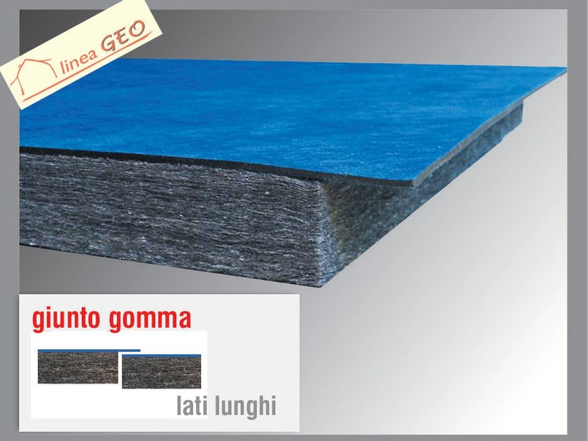 Sound insulation panel POLIGRAFITE GUM 4 - Thermak by MATCO