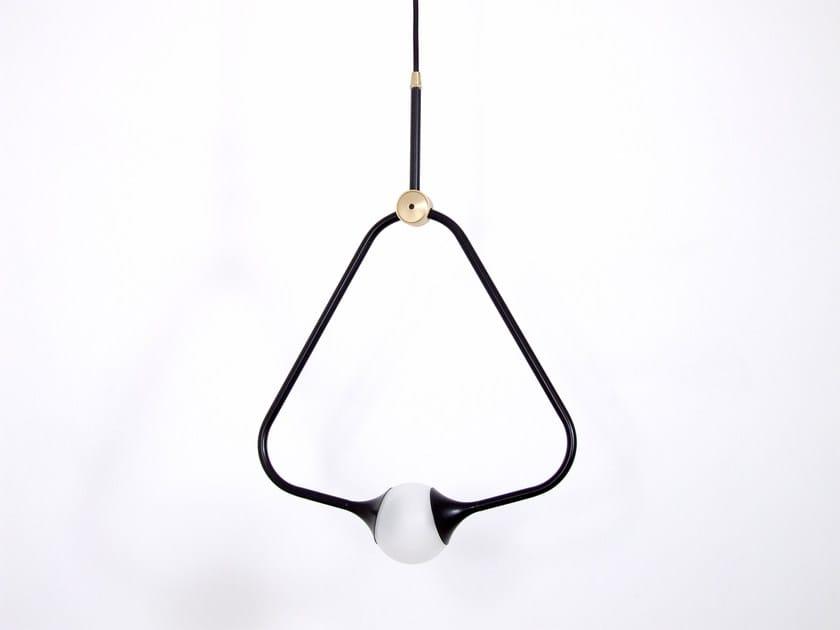 Direct light pendant lamp MEDAL BLACK - Intueri Light