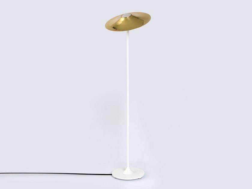 Halogen floor lamp SKEW WHITE | Floor lamp - Intueri Light