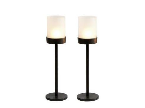 Iron candlestick 10666 | Candlestick - Dauby