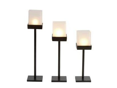 Iron candlestick 10672 | Candlestick - Dauby