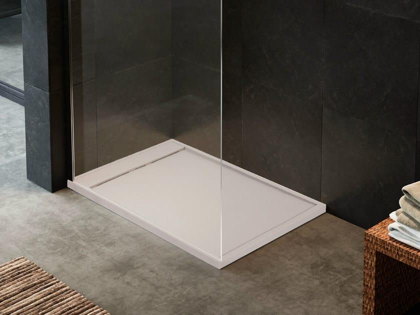 Rectangular shower tray RUG - Glass 1989