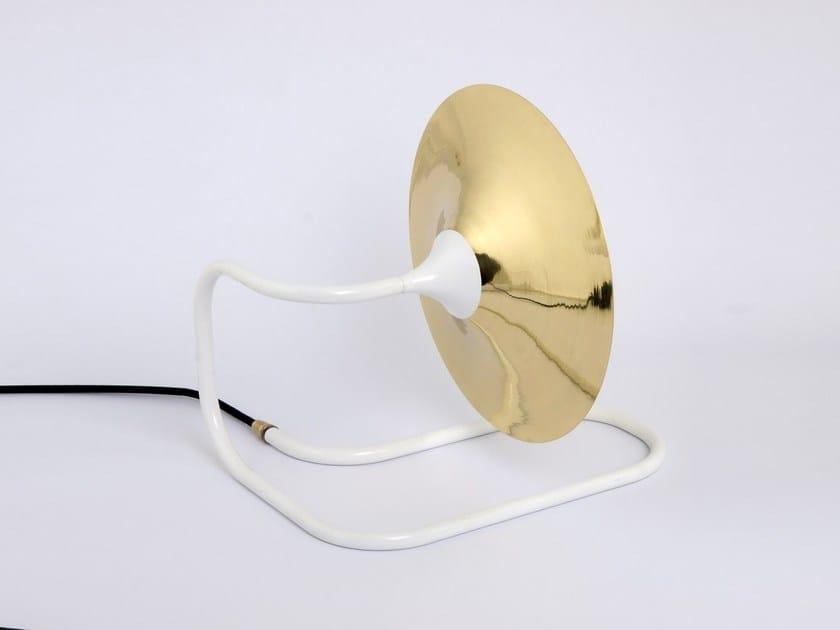 Direct light halogen table lamp TURBAYA WHITE - Intueri Light