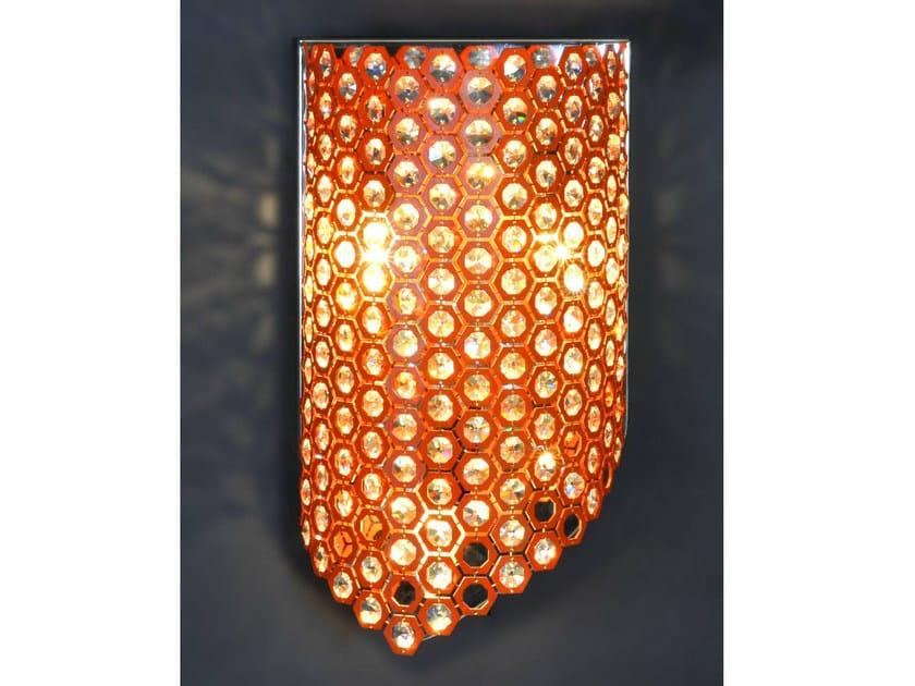 Bronze wall light 27200   Wall light by Tisserant