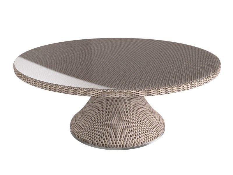 Round garden table PROVENCE | Round table - Sérénité Luxury Monaco