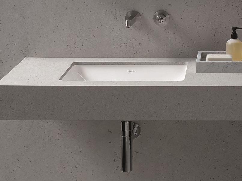 Undermount rectangular washbasin ME | Undermount washbasin - DURAVIT