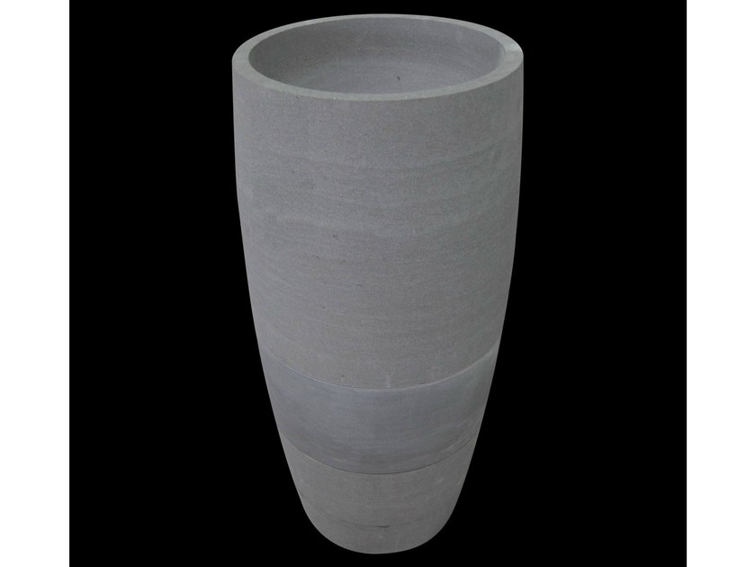 Freestanding natural stone washbasin EFFETTI - DANILO RAMAZZOTTI ITALIAN HOUSE FLOOR