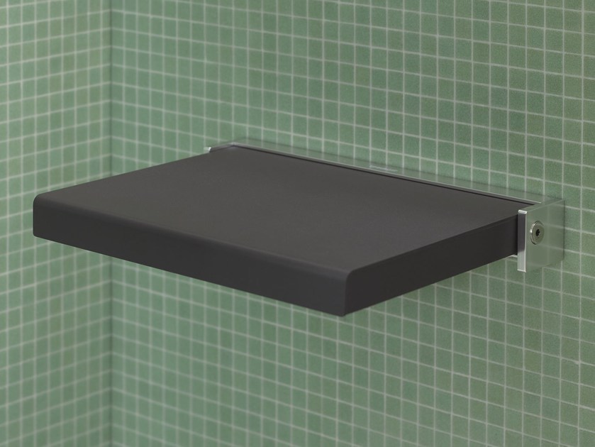Folding polyurethane shower Seat OPENSPACE | Shower Seat - DURAVIT