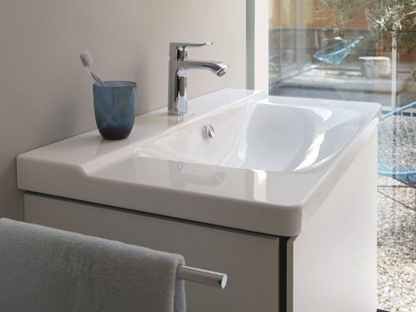 Rectangular single washbasin P3 COMFORTS   Washbasin - DURAVIT