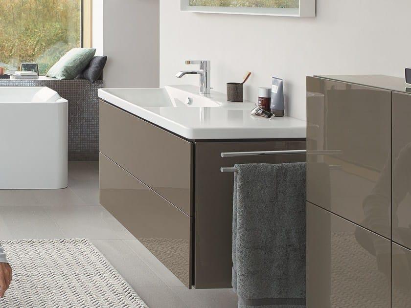 p3 comforts waschbecken mit waschtisch by duravit design. Black Bedroom Furniture Sets. Home Design Ideas