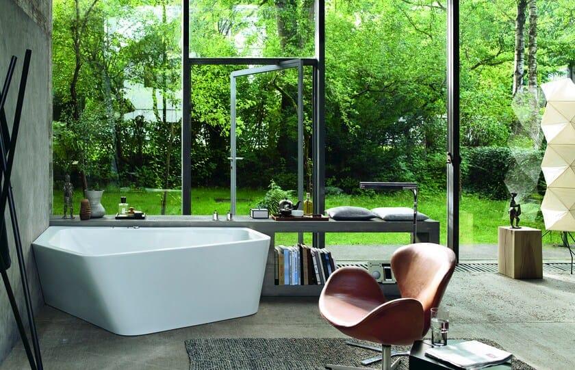 Vasca da bagno asimmetrica idromassaggio paiova 5 vasca da bagno duravit - Vasca da bagno duravit ...