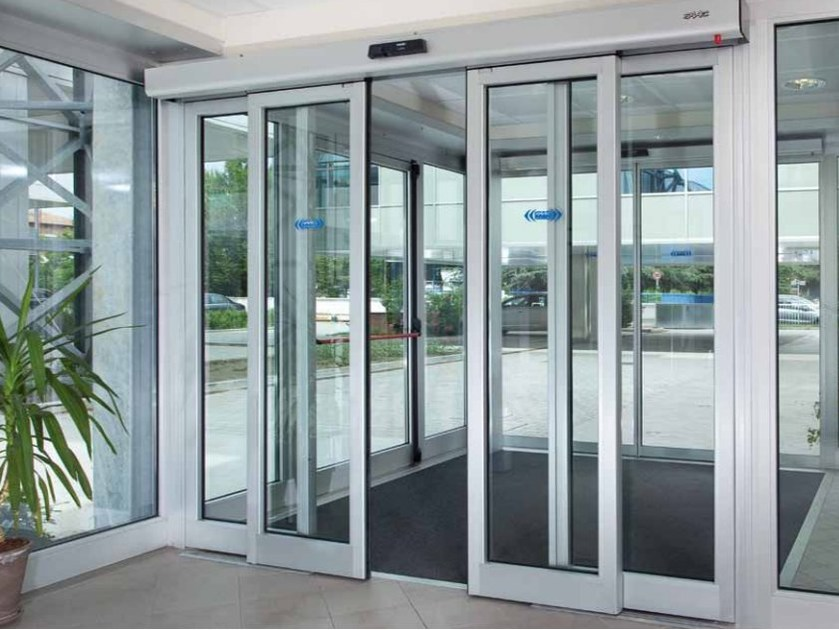 Automated door system A140 AIR - FAAC Soc. Unipersonale