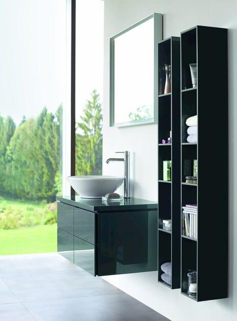 mobile lavabo sospeso con cassetti l cube mobile lavabo. Black Bedroom Furniture Sets. Home Design Ideas