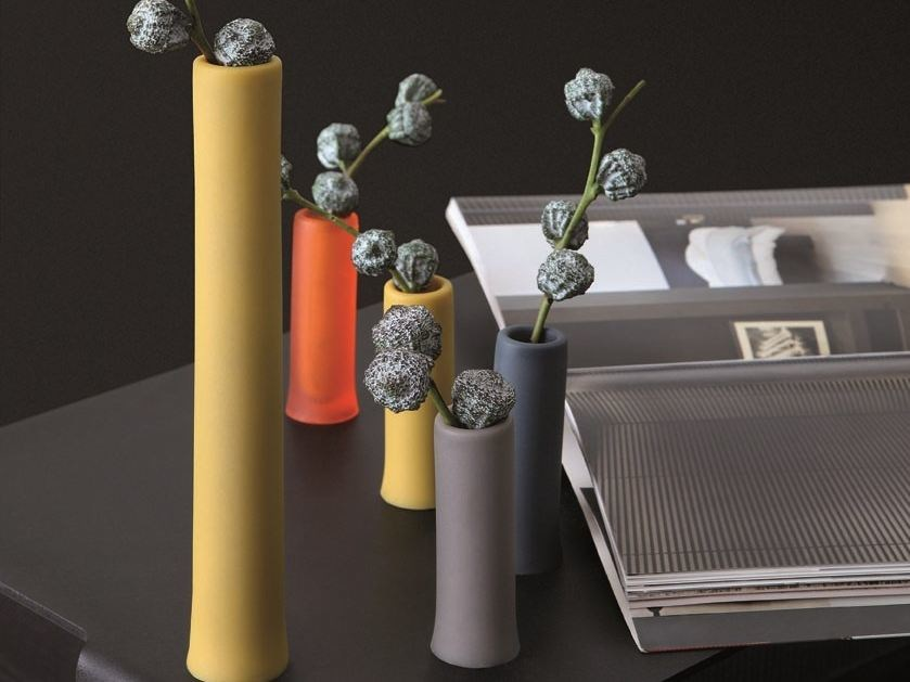 Polyurethane gel vase ASSOLO - Geelli by C.S.